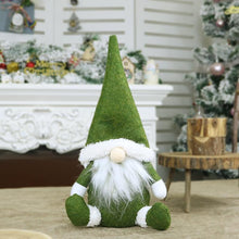 Load image into Gallery viewer, Christmas Faceless Old Man Doll Window Decoration