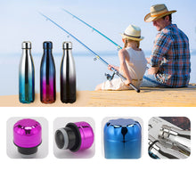 Load image into Gallery viewer, TACLIGHT FLASHLIGHT + Leak-Proof Double Walled Cola Shape Water Bottle Keep Hot&Cold (2 Pieces )