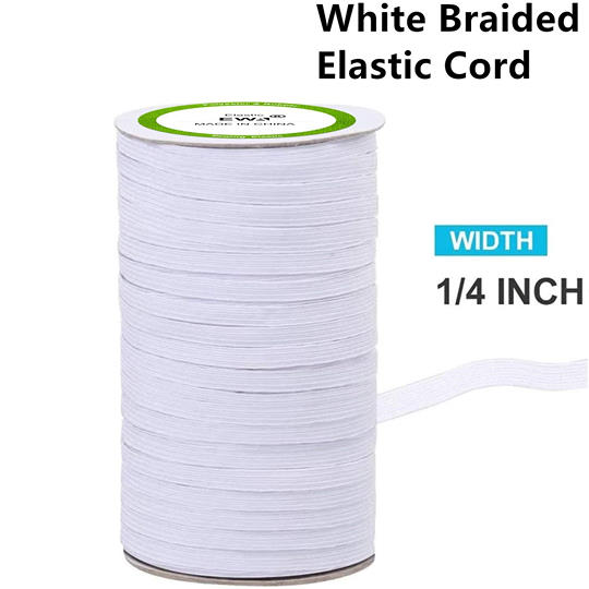 High-quality Colorful Braided Elastic Cord/Elastic Band