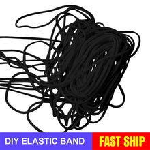Load image into Gallery viewer, 2.5mm Round Braided Elastic Cord/White Elastic Band - 50 Yard