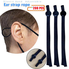 Load image into Gallery viewer, High elastic flat ear strap rope adjustment buckle