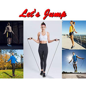 Best Jumping Ropes For Men, Women and Kids - 2 Pack