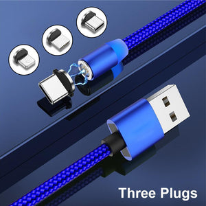 New Generation Luxury 3-in-1 Magnetic Charging Cable