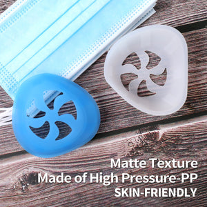 NEW 3D Easy-breathing Food Grade Silicone Mask Holder