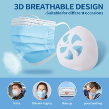 Load image into Gallery viewer, 3D Easy-breathing Food Grade Silicone Mask Holder