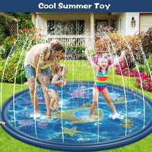 Load image into Gallery viewer, Sprinkler Splash Play Mat
