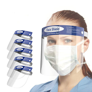 Reusable Safety Face Shield Clear-Protects Face And Eyes