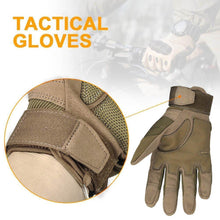 Load image into Gallery viewer, Hard Knuckle Carbon Fiber Gloves