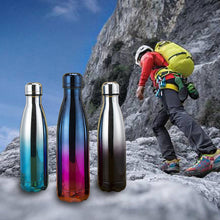 Load image into Gallery viewer, Leak-Proof Double Walled Cola Shape Water Bottle Keep Hot&Cold