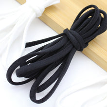 Load image into Gallery viewer, 1/8 Inch DIY Round White Braided Elastic Cord/Elastic Band 100 metres