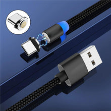 Load image into Gallery viewer, New Generation Luxury 3-in-1 Magnetic Charging Cable