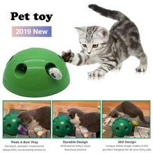 Load image into Gallery viewer, 'Peek-a-Meow' Interactive Cat Toy