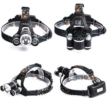 Load image into Gallery viewer, HEADLIGHT HEAD LAMP 5000 LUMENS LED 4 MODES