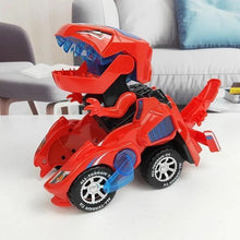 Load image into Gallery viewer, Colapa™ Transforming Dinosaur LED Car