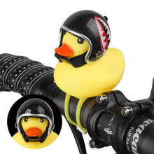 Load image into Gallery viewer, MTB DUCK TOY WITH HELMET