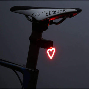 Heart Bicycle Taillight - Heart