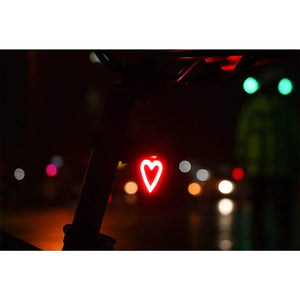 Heart Bicycle Taillight