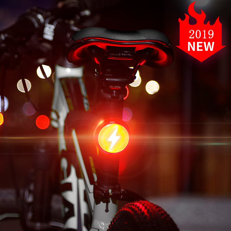 Bicycle Light Multi-function Warning Safety Light