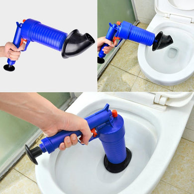 Air Power Drain Blaster gun, High Pressure Powerful Manual sink Plunger Opener