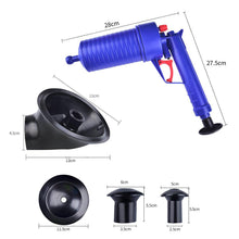 Load image into Gallery viewer, Air Power Drain Blaster gun, High Pressure Powerful Manual sink Plunger Opener
