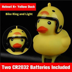 MTB DUCK TOY WITH HELMET