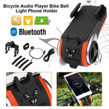 Load image into Gallery viewer, 5-in-1 Bicycle Speaker & Phone Holder