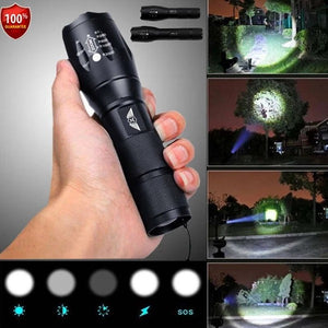 Multi-Function Flashlight  For Travel And Camping
