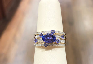 Tanzanite & Diamond Ring - Q&T Jewelry