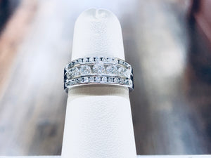 Diamond Anniversary Band - Q&T Jewelry