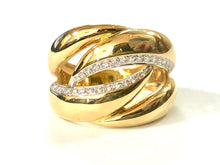 Load image into Gallery viewer, 18k Yellow Gold Diamond Ring - Q&T Jewelry