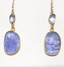 Load image into Gallery viewer, Tanzanite Earrings - Q&T Jewelry