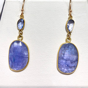 Tanzanite Earrings - Q&T Jewelry
