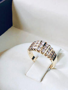 Women's Diamonds Anniversary Band - Q&T Jewelry