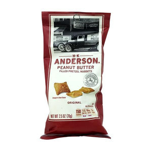 HK Anderson Peanut Butter Pretzel Nuggest 2.5oz. Bag