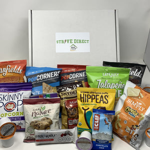 CUSTOM  WORK FROM HOME SNACK BOX