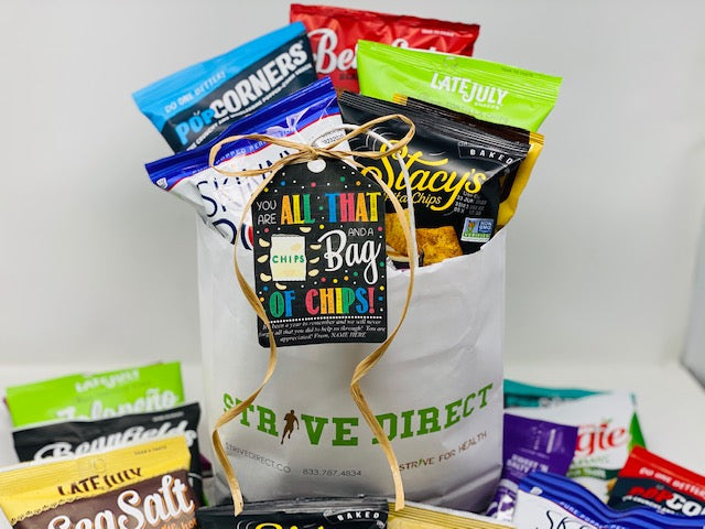 Teacher appreciation gift bag