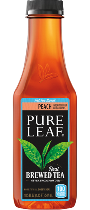 Pure Leaf Peach 18.5oz.