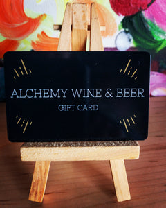 alchemy gift card