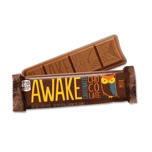 Awake Milk Chocolate Bar 1.55oz. Each