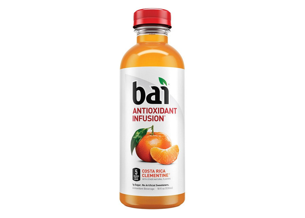 Bai5 Costa Rica Clementine 18oz. Bottle