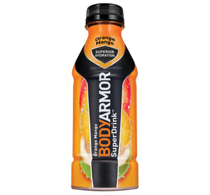 Body Armor Super Drink Orange Mango 16oz. Bottle