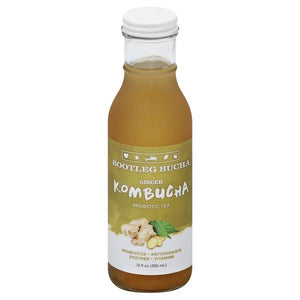 Bootleg Bucha Ginger 12oz. Bottle