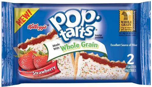 Pop Tarts Whole Grain Strawberry 2 Pack
