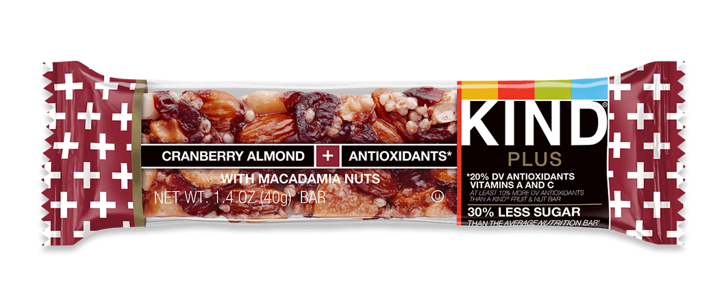 Kind Bar Cranberry Almond