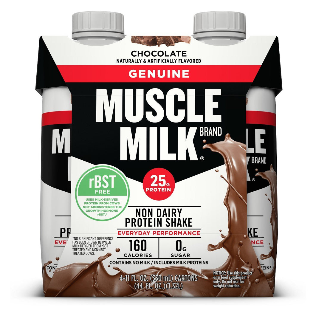 Muscle Milk Chocolate 11oz. Tetrapak