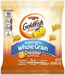 Gold Fish Whole Grain 1oz. Bag