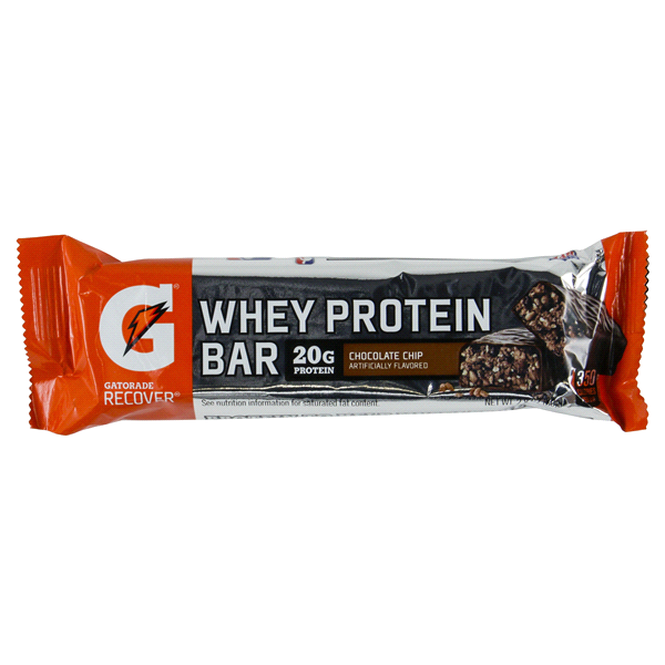 Gatorade Protein Whey Chocolate Chip Bar 2.8oz Each