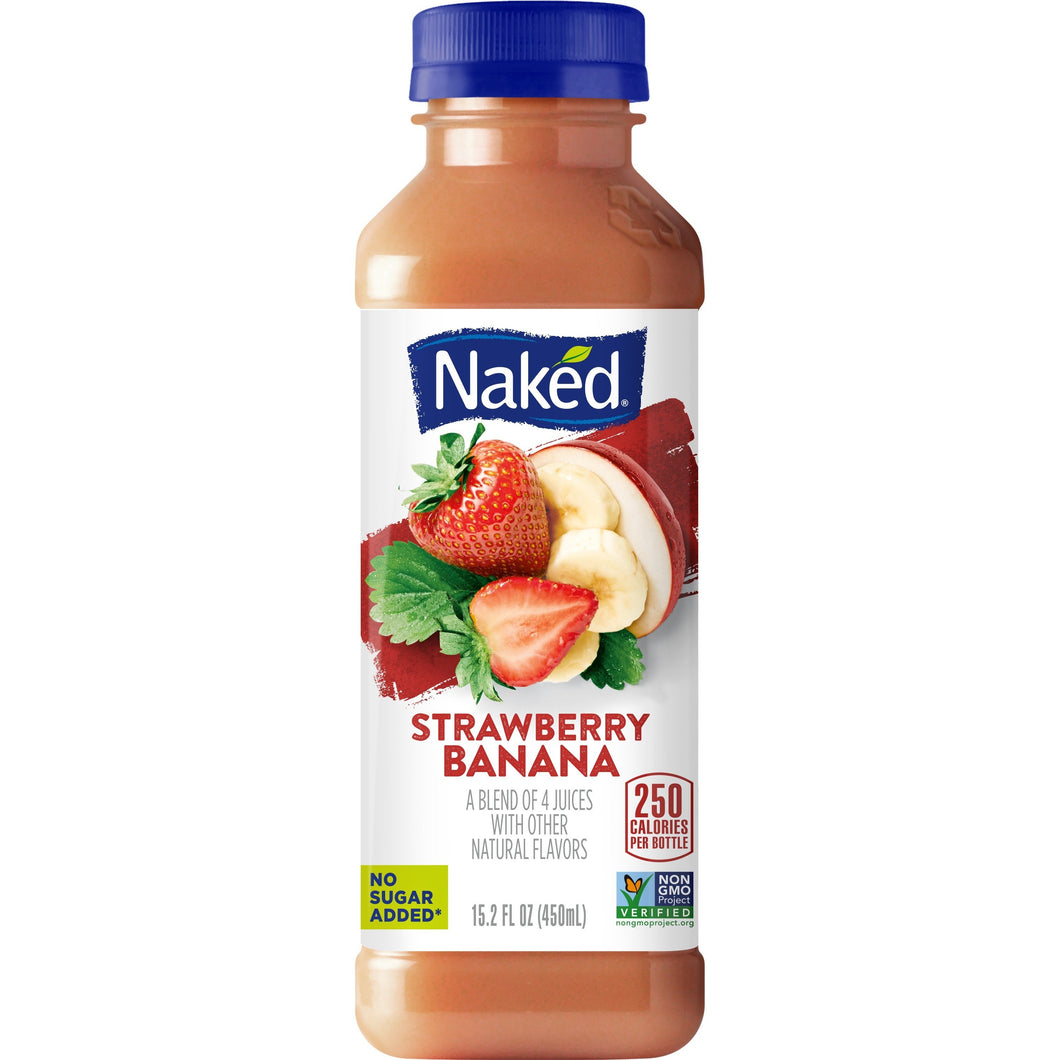 Naked Juice Strawberry Banana 15.2oz Bottle
