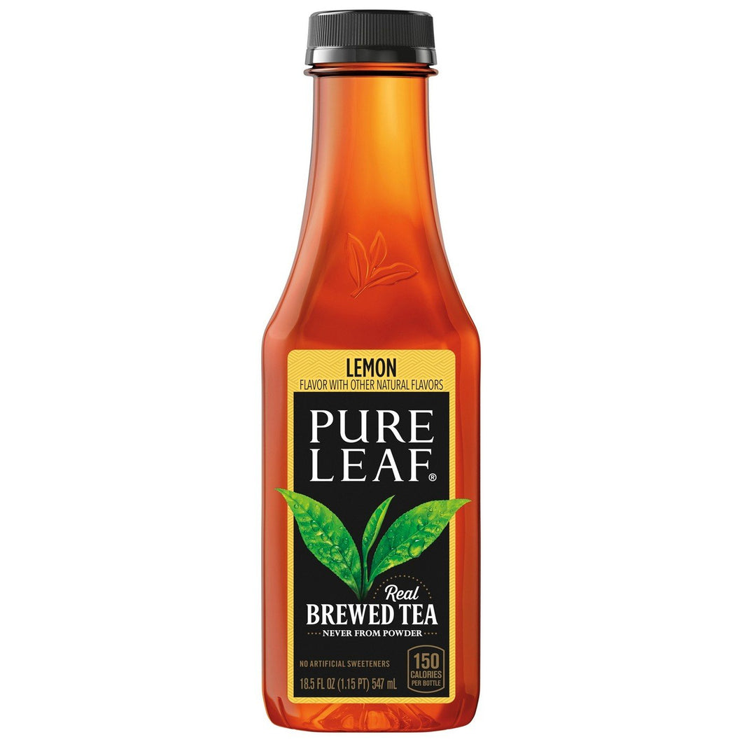 Pure Leaf Tea Lemon 18.05 oz. Bottle