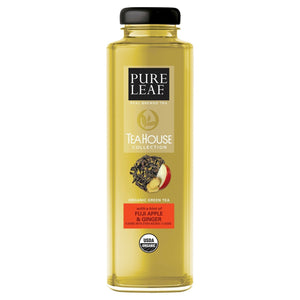 Pure Leaf Tea House Collection Green Tea w/Apple 14oz. Bottle